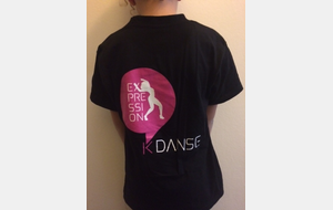 T -Shirt col rond Expression K'Danse